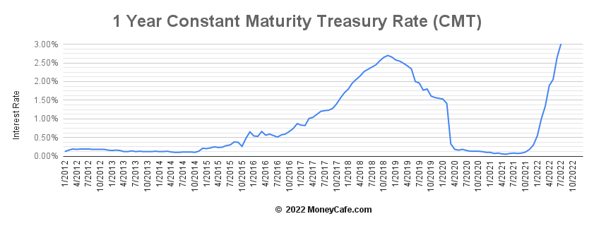 Constant maturity treasury swap